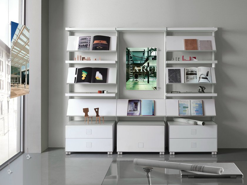 Office shelving BIG OFFICE by Caimi Brevetti