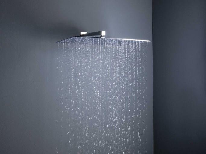 Big rain soffione doccia a muro by tender rain