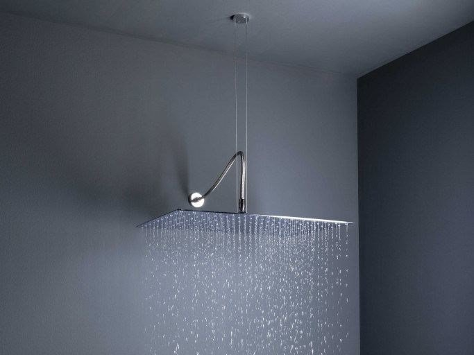 Ceiling Mounted Brass Rain Shower With Anti Lime System BIG RAIN | Ceiling  Mounted Overhead