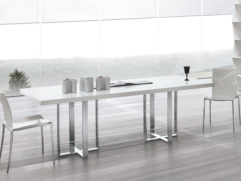 Rectangular wooden table BIG TABLE by ALIVAR