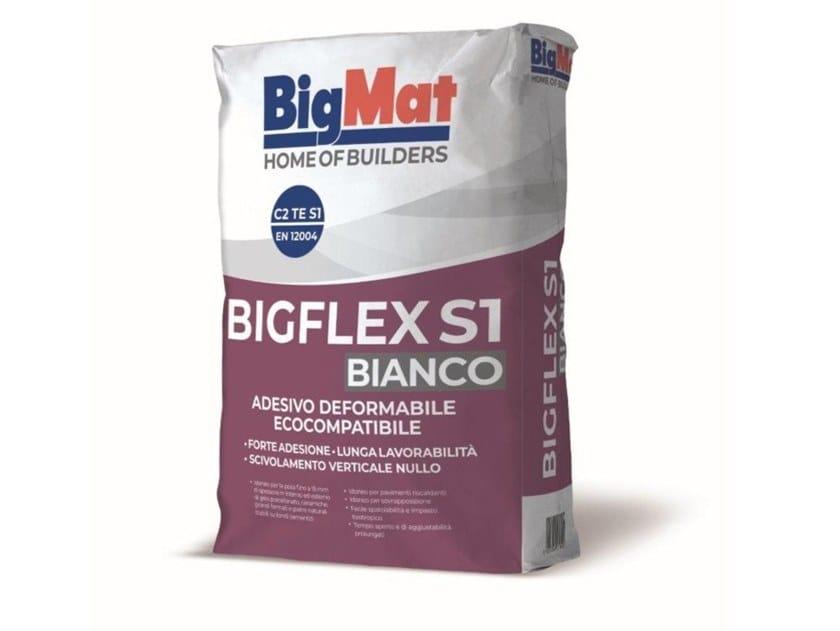 Adesivo cementizio per pavimento BIGFLEX S1 by BigMat