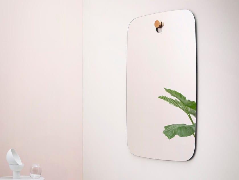 Wall-mounted rectangular mirror BIGGER BROTHERS   Rectangular mirror by Miniforms