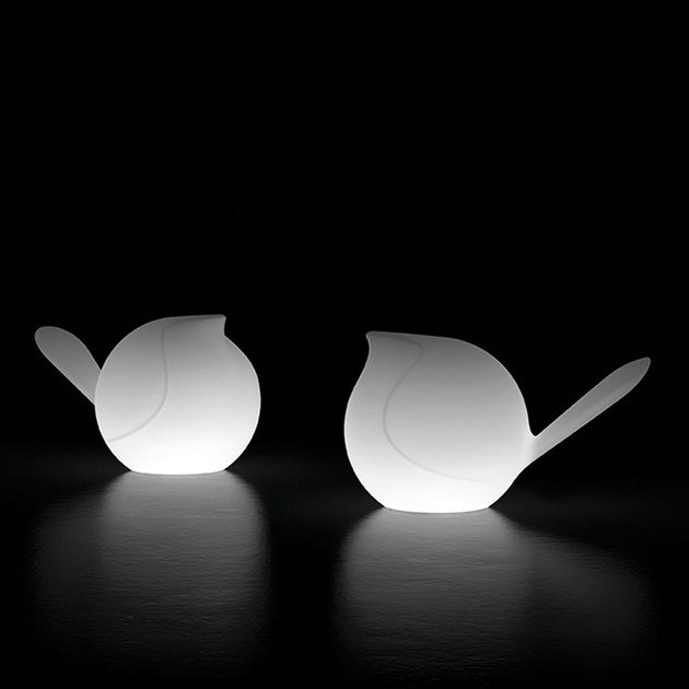 Tavolo Plust Lampada In Led Polietilene Biggie Da A Light CxBedor