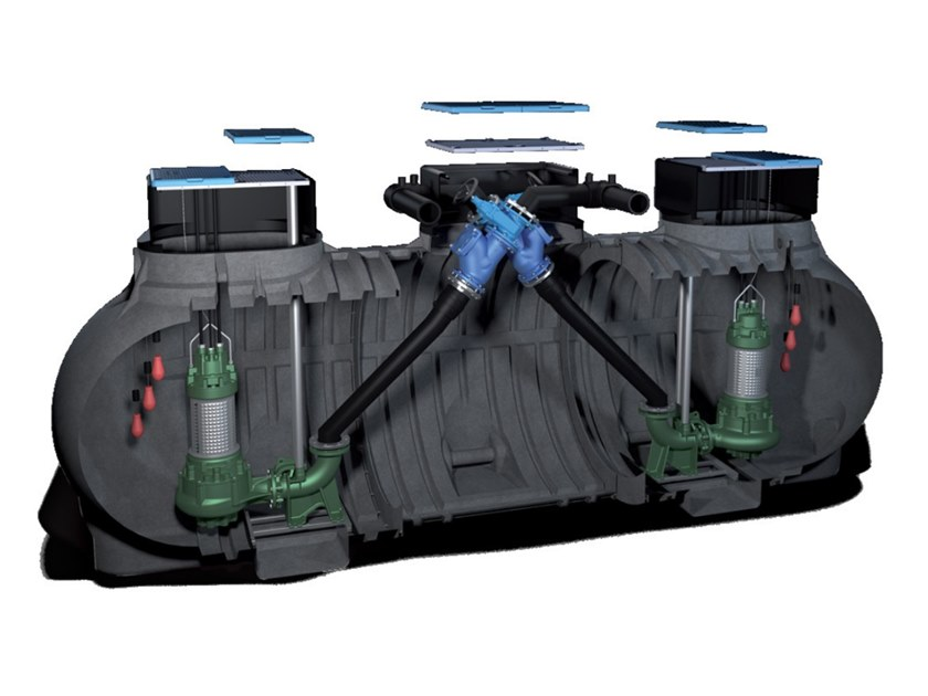 "Component for liquid sewage treatment plant BIGSOL ""BXS"" by Starplast"