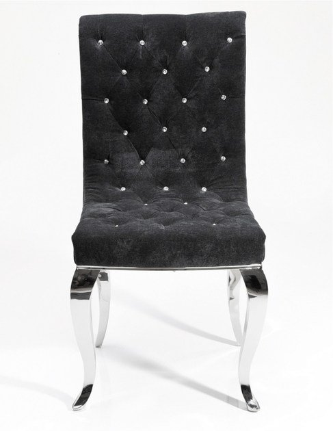 Tufted fabric chair Chair by KARE-DESIGN