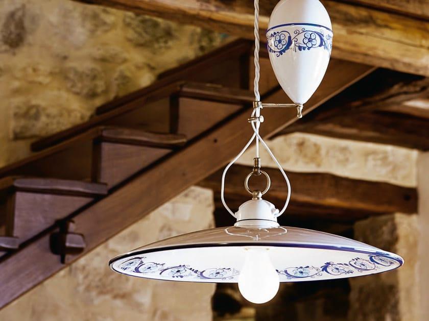 Ceramic pendant lamp BILANCIA | Pendant lamp by Aldo Bernardi
