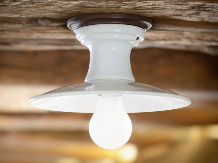 Ceramic ceiling light BILANCIA | Ceiling light by Aldo Bernardi