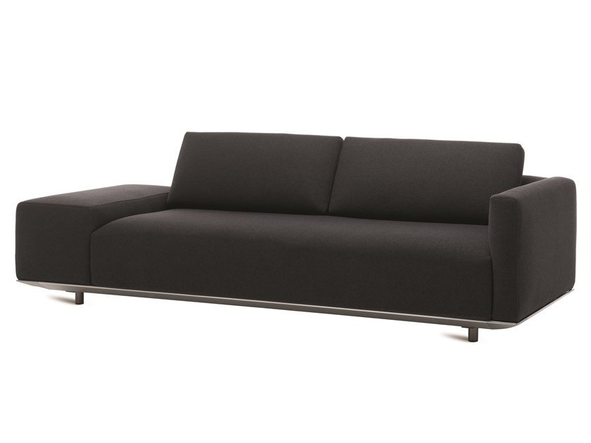 2 seater sofa with removable cover BILLIE | Sofa by Casamania & Horm