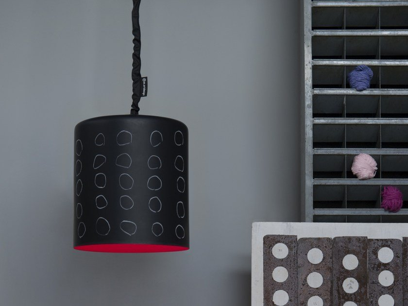 Resin pendant lamp BIN LAVAGNA by In-es.artdesign