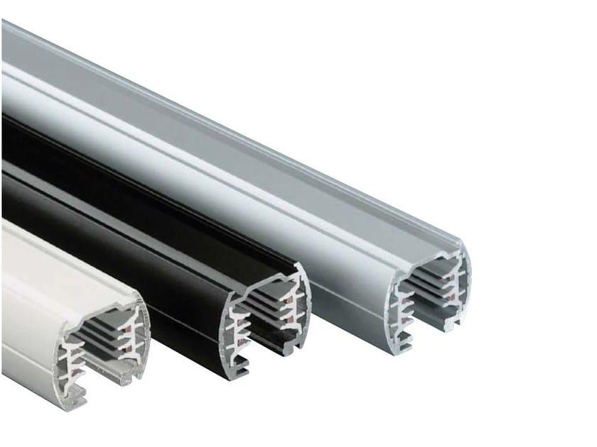 Aluminium Track-Light BINARIO TONDO by NEXO LUCE