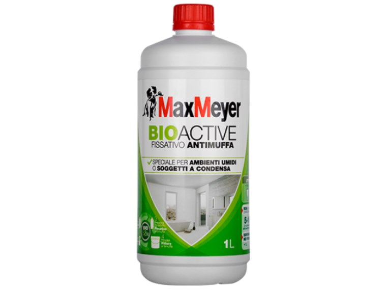 Chemical barrier anti-humidity system BIOACTIVE FISSATIVO by MaxMeyer