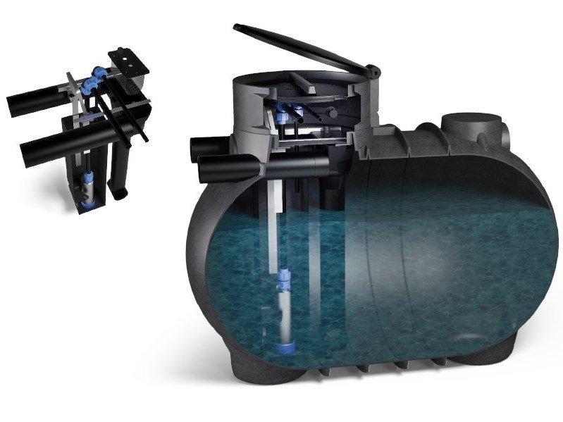 Rainwater recovery system BIOBLU by Starplast