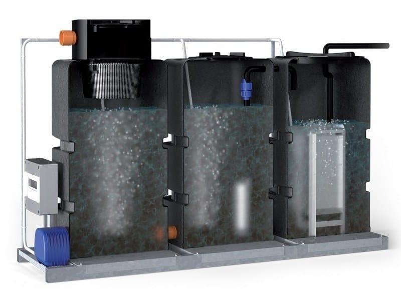 Treatment and purification equipment BIOGRIGIO by Starplast