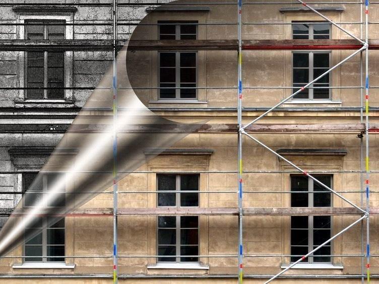 Intonaco di fondo risanante a base di calce idraulica BIOINTONACO VENEZIANO by Terragena