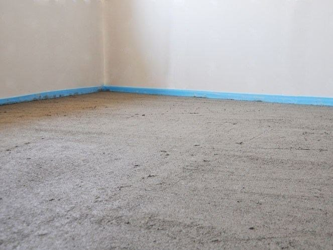 Pre-mix for thermal insulating screed BIOPAV NHL 3.5 by Terragena