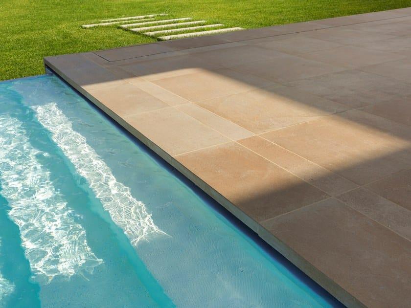 Pavimento/rivestimento antibatterico in gres porcellanato a tutta massa BIOS ANTIBACTERIAL CERAMICS® by Casalgrande Padana