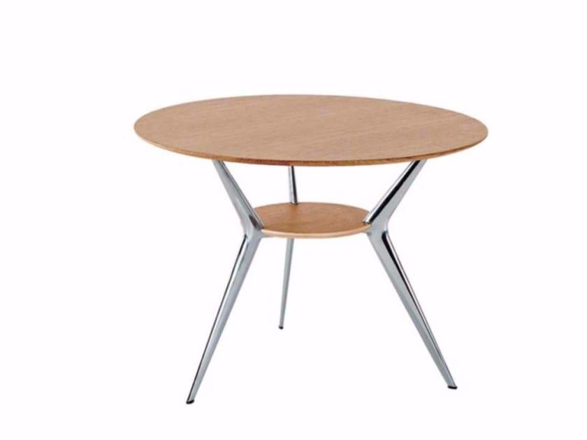 Round coffee table BIPLANE Ø62 - 404 by Alias