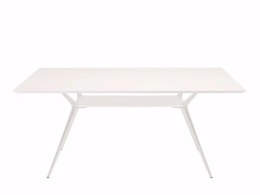 Rectangular table BIPLANE 170X120 - 410 by Alias