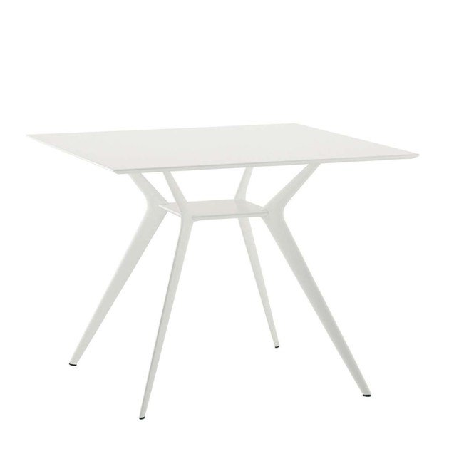 Square table BIPLANE 90X90 - 400 by Alias