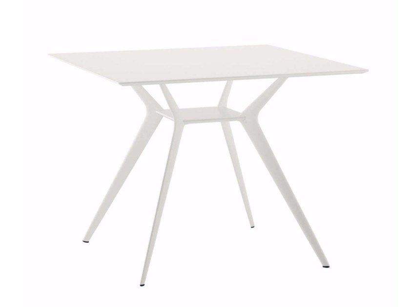 Square table BIPLANE 90X90 - 400_O by Alias