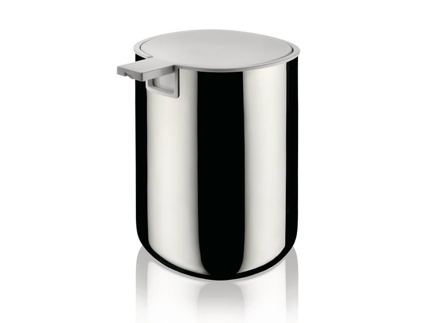 Stainless steel liquid soap dispenser BIRILLO | Stainless steel liquid soap dispenser by Alessi