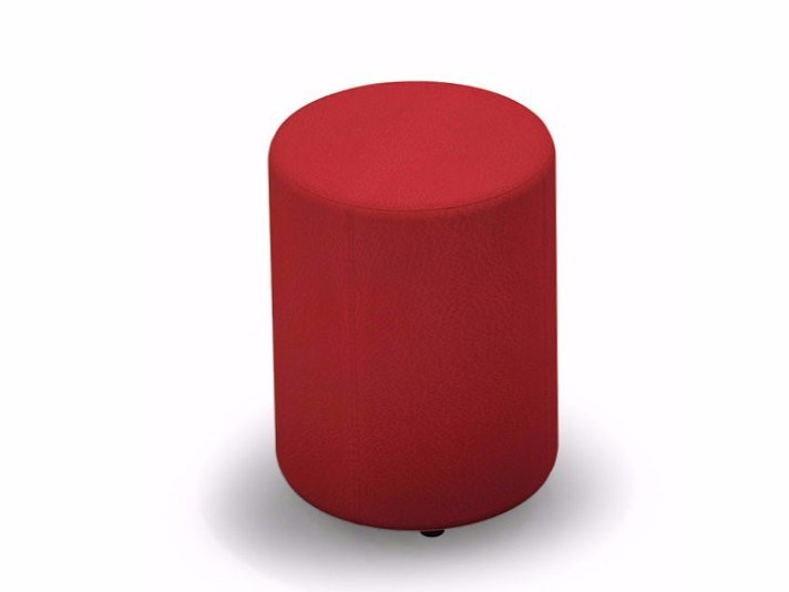 Round fabric pouf BIRILLO by FIT INTERIORS