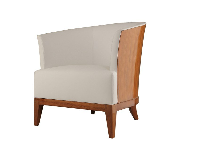 Easy chair with armrests BIRMAN by Laval