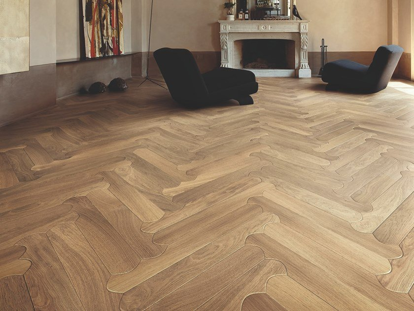 Oak wall/floor tiles BISCUIT CIVITA by Listone Giordano