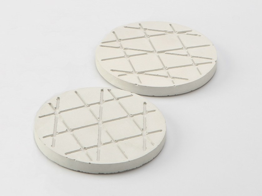 Cement trivet BISCUITS by Specimen Editions