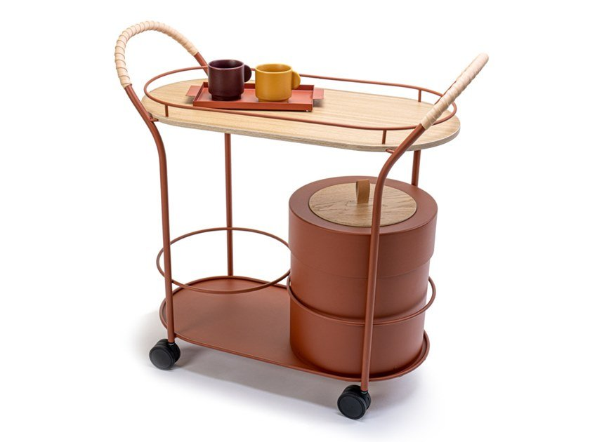 Metal food trolley BISTRO by Mizetto