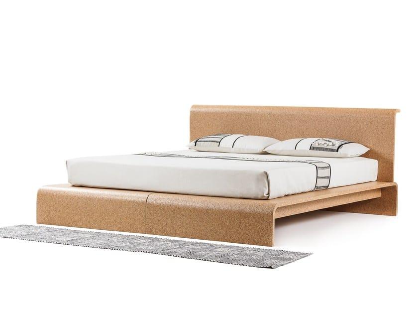 Cork double bed BISU by OTQ