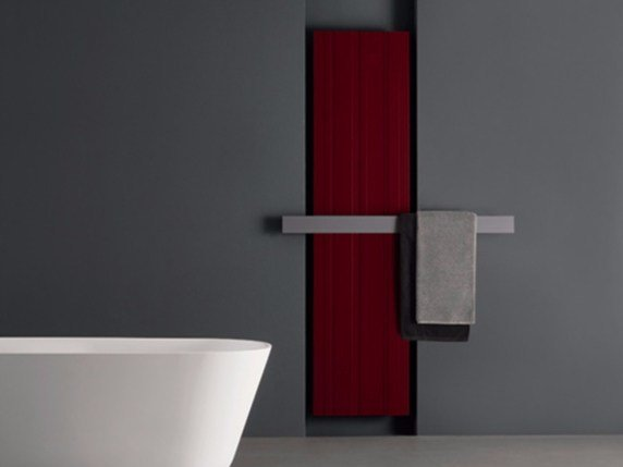 Extruded aluminium radiator / decorative radiator BIT by Antonio Lupi Design