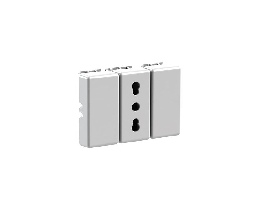 Plastic electrical outlet BITAPPO 4B.G20.BT by 4 BOX