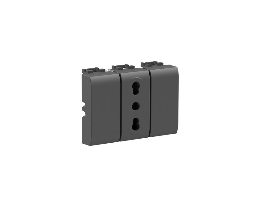 Plastic electrical outlet BITAPPO 4B.L.BT by 4 BOX