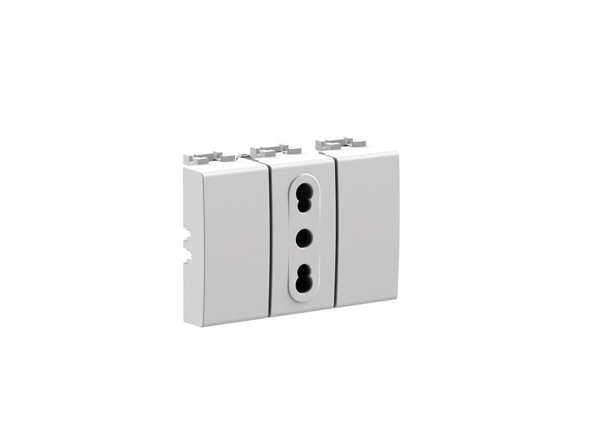 Plastic electrical outlet BITAPPO 4B.N.BT by 4 BOX