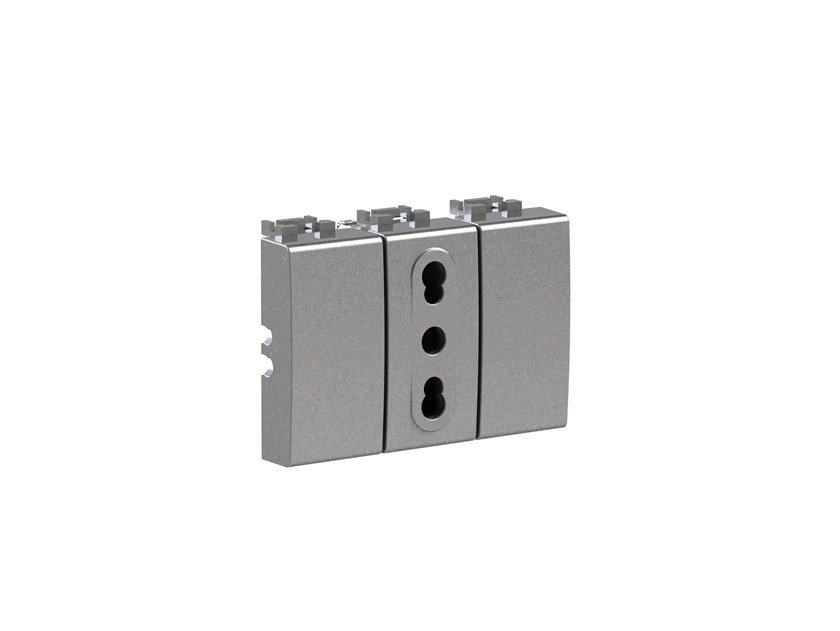 Plastic electrical outlet BITAPPO 4B.NT.BT by 4 BOX