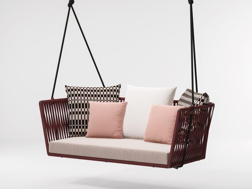 Bitta 2 Seater Garden Hanging Chair Bitta Collection By Kettal