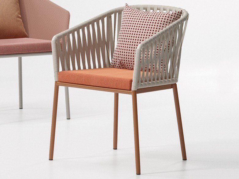 Fabric garden chair BITTA | Chair by Kettal