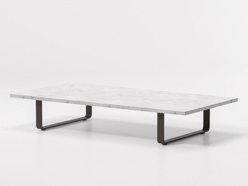 Marble garden side table BITTA | Coffee table by KETTAL