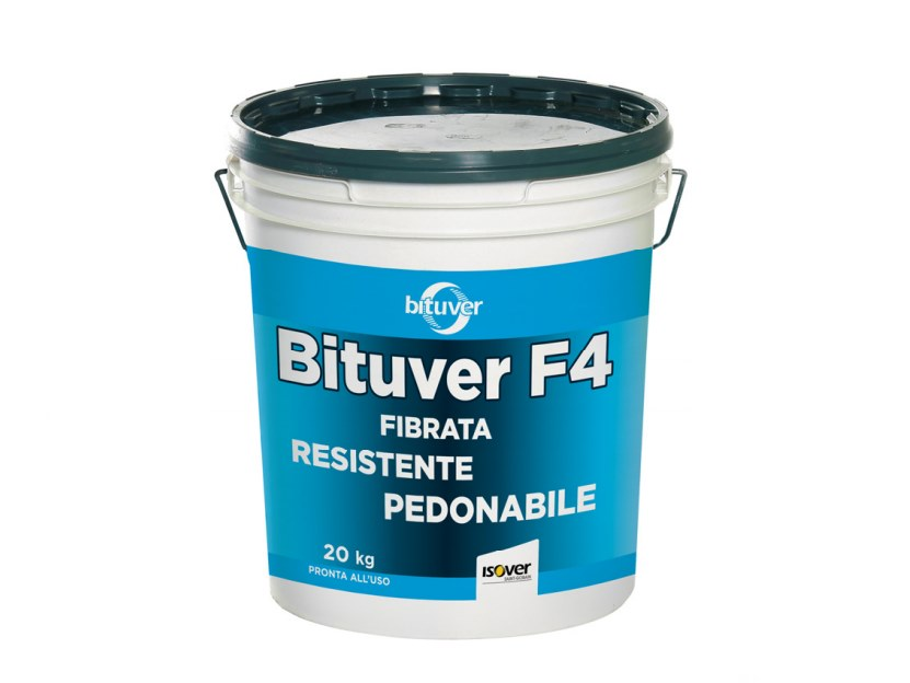 Liquid waterproofing membrane BITUVER F4 by BITUVER