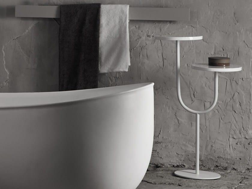Tavolino di servizio in metallo BIVIO | Tavolino by INBANI