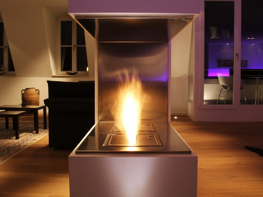 Caminetto incassato a bioetanolo BK3 by EcoSmart Fire