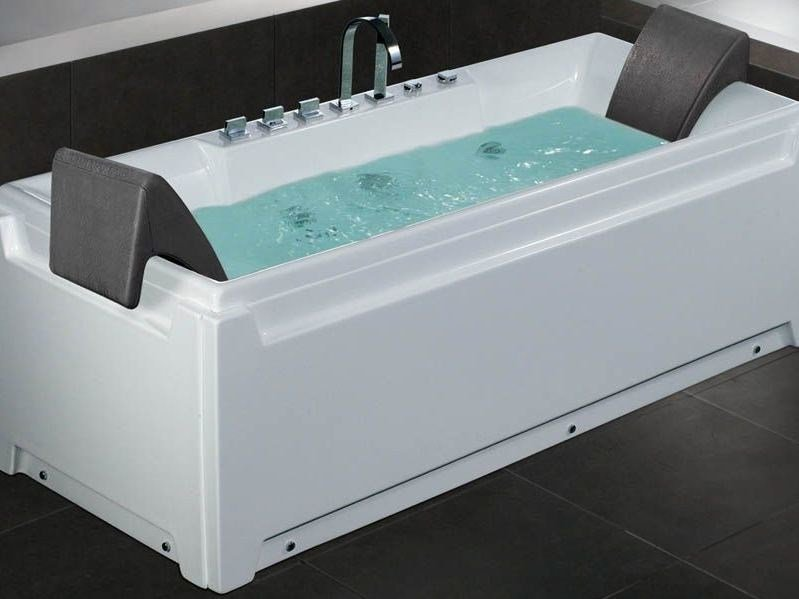 Whirlpool rectangular bathtub THE ESSENTIALS - 170x70 The Essentials ...