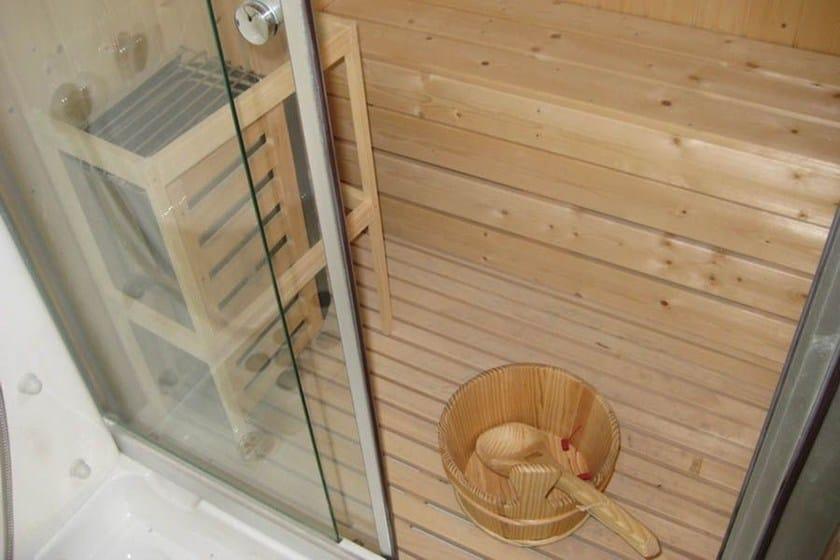 Cabine Doccia Con Sauna : Cabina idromassaggio con vasca multifunzione con sauna