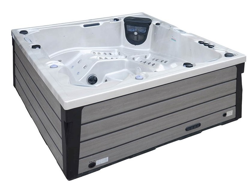 Square hydromassage hot tub BL-802 | Hot tub by Beauty Luxury