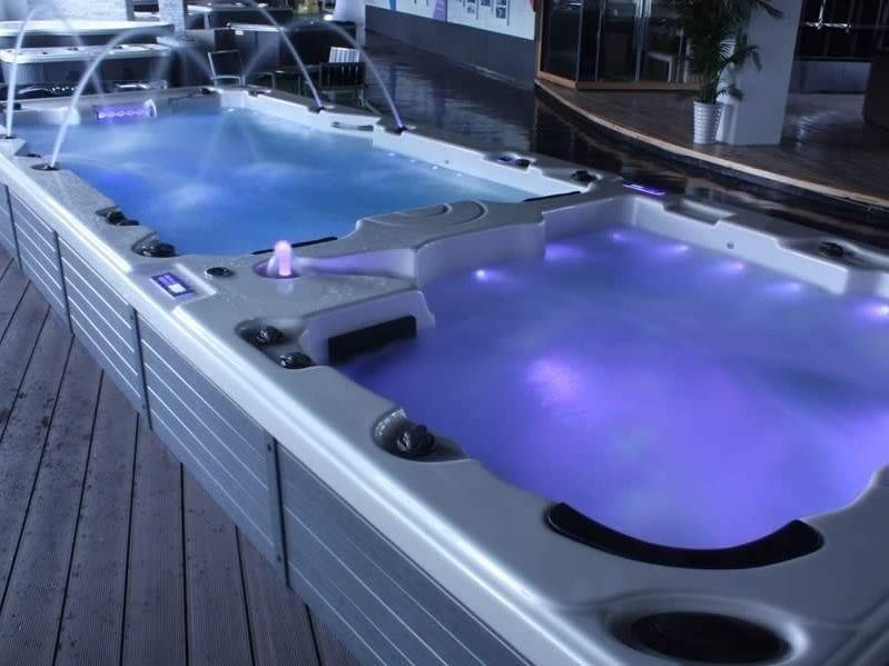 Rectangular swim spa 7-seats BL-850 | Swim spa by Beauty Luxury