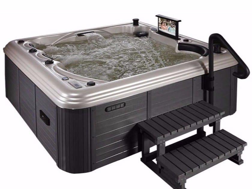 Square hydromassage hot tub 5-seats BL-869   Hot tub 5-seats by Beauty Luxury