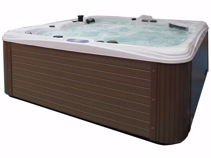 Hydromassage hot tub for chromotherapy 5-seats BL-877 | Hot tub 5-seats by Beauty Luxury