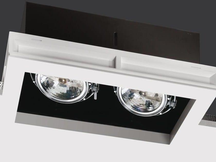 Multiple recessed spotlight BLACK BOX by Buzzi & Buzzi