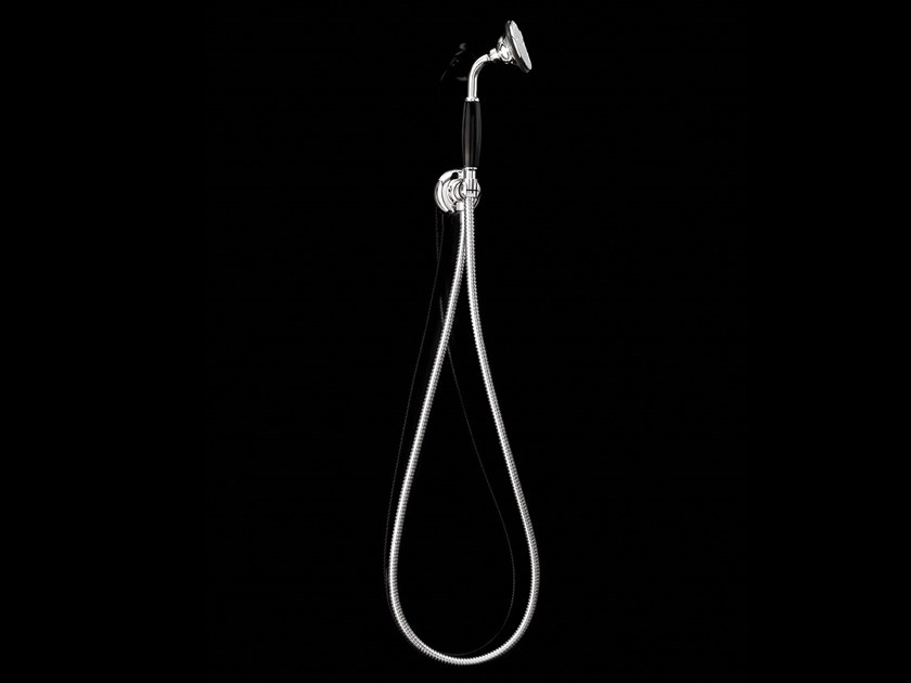 Wall-mounted handshower with bracket BLACK MORRIS | Wall-mounted handshower by Devon&Devon